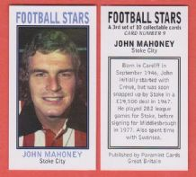 Stoke City John Mahoney Wales